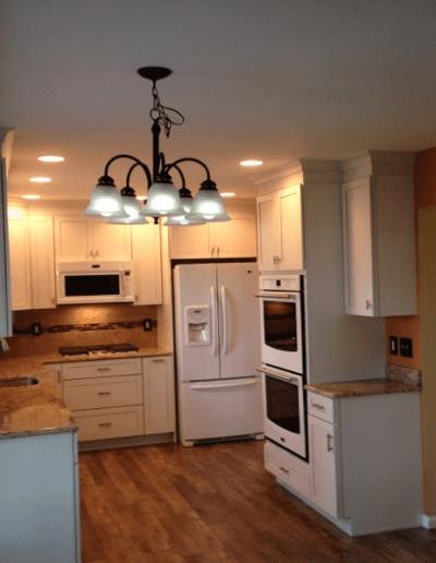 white kitchen full